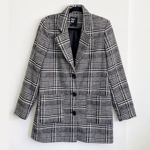 ASOS First & I Checked Tailored Coat